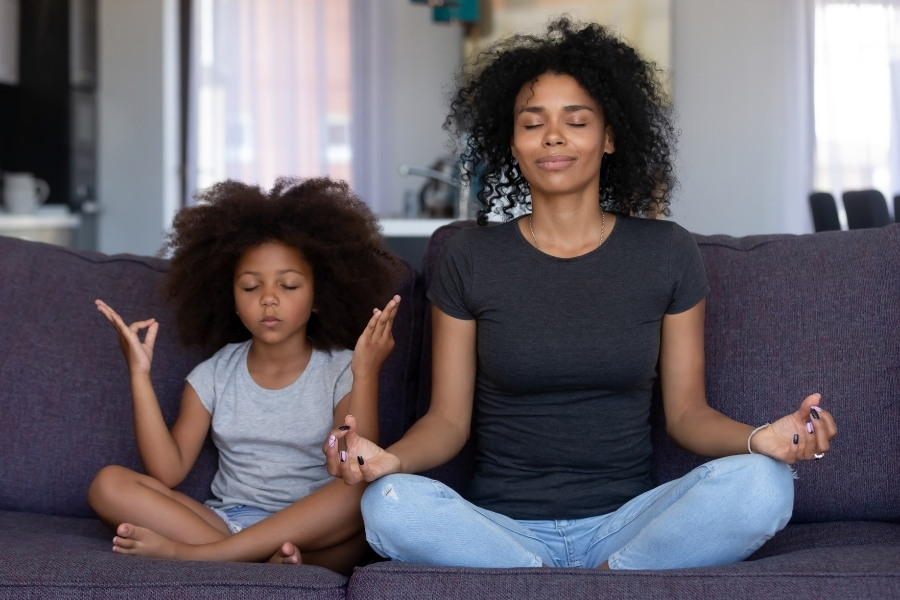 peace is a benefit of being a single mom