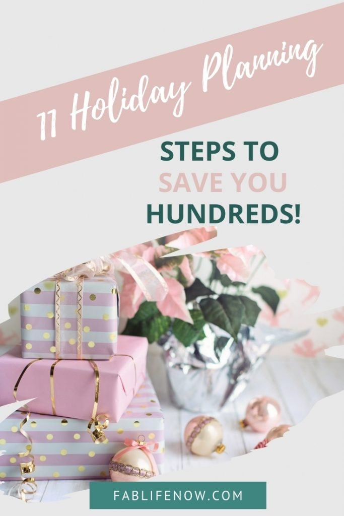 11 Holiday Planning Steps to Save You Hundreds