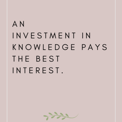 Top 10 Quotes About Investing