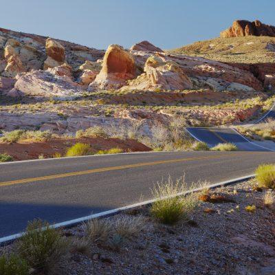 desert bumpy road