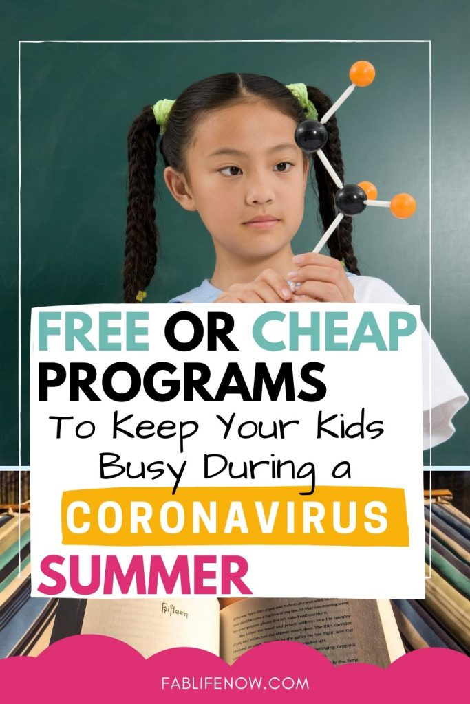 free or cheap summer programs for at home