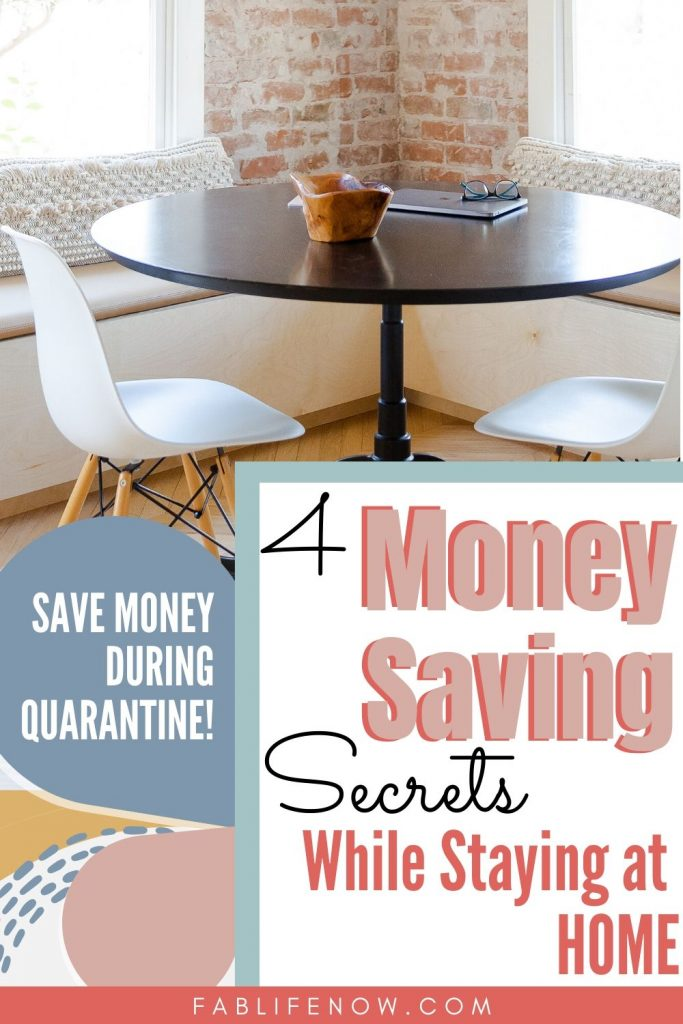4 money saving secrets