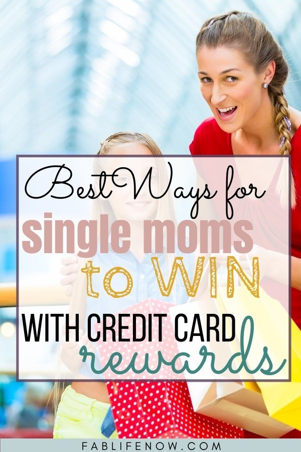 credit card rewards for single moms