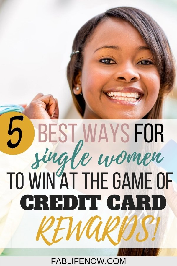 credit card rewards for single women