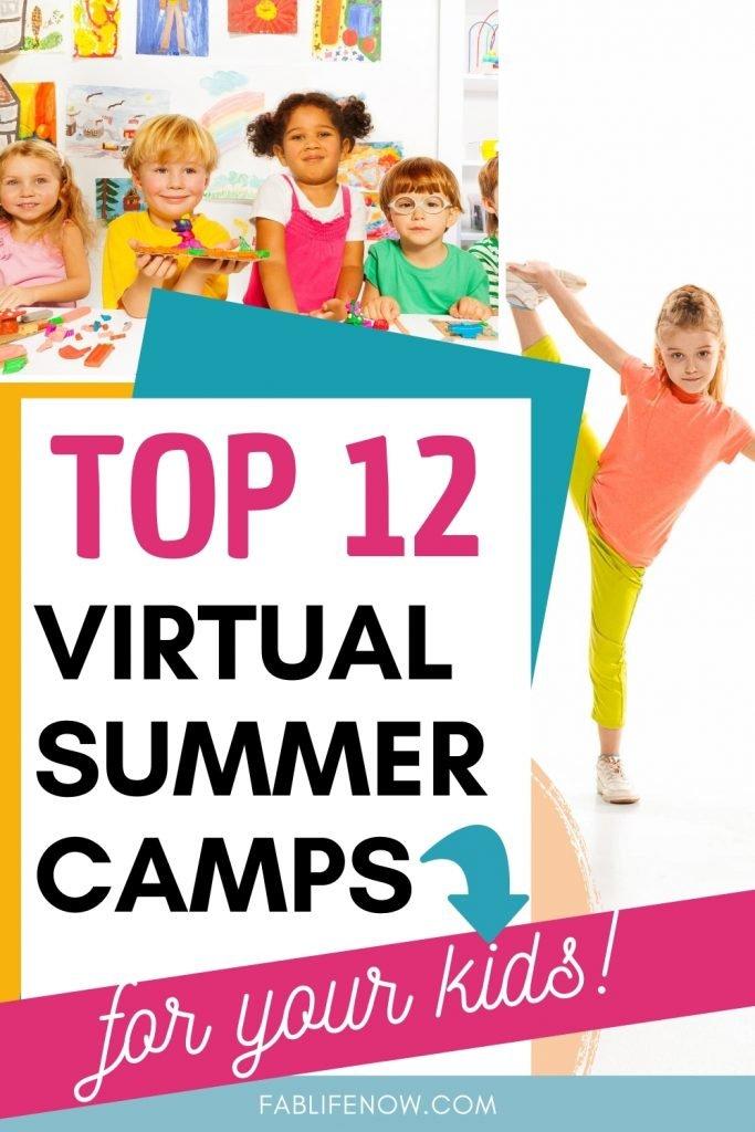 top 12 virtual summer camps