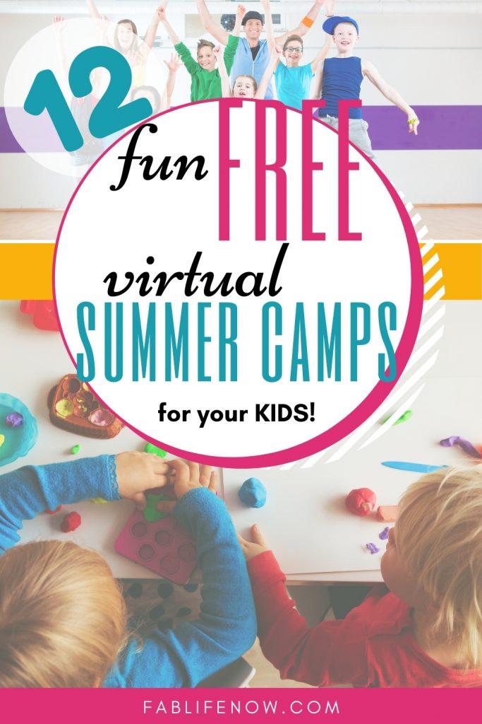free virtual summer camps