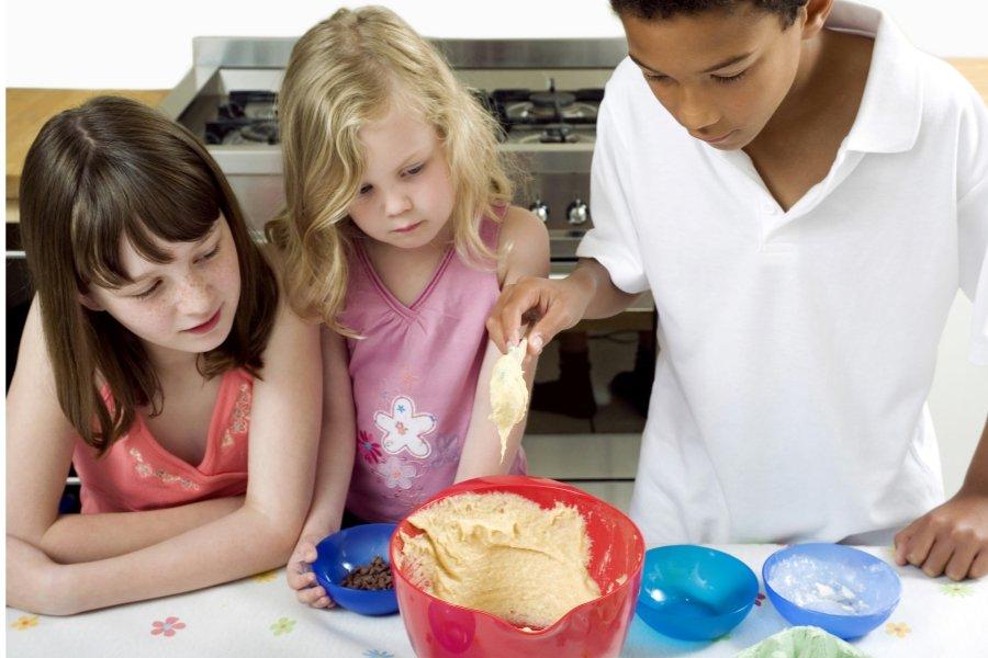 cooking at free virtual summer camp